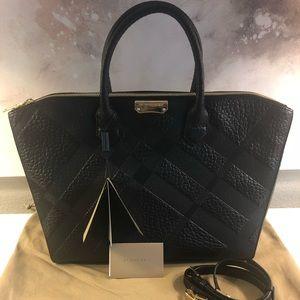 Brand new Burberry Dewberry Check Tote Handbag